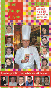 Bien Manger à Lyon  2012 - 2013 - 9e édition